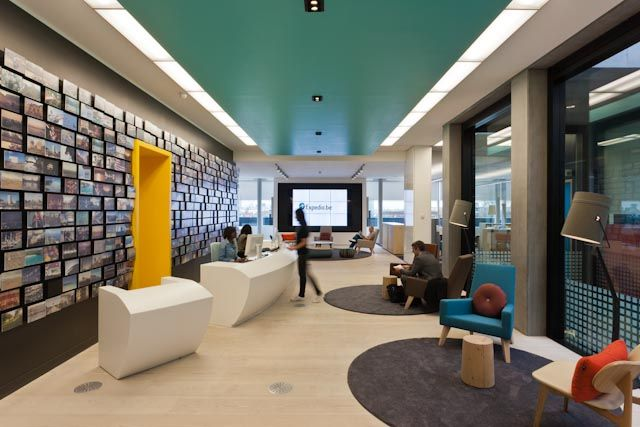 cool office reception areas. amazing photo memory wall and look at the interactive clientreception area really cool video screen back imagine choices playing on theru2026 office reception areas