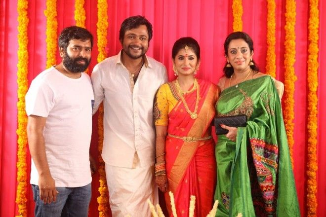 #Bobby Simha and #Reshmi Menon #Engagement Pictures