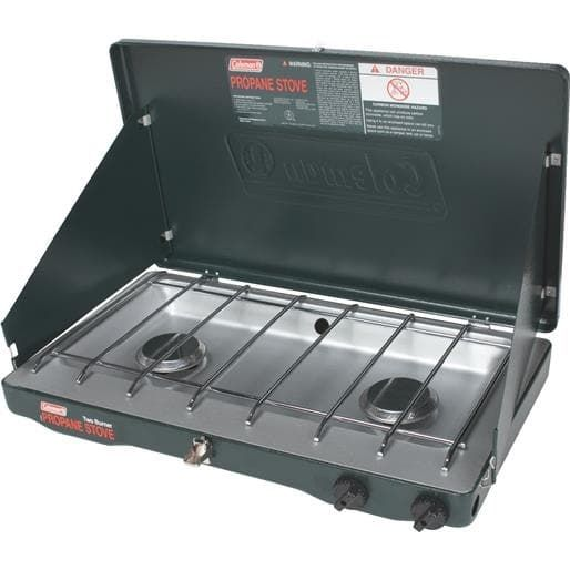 Coleman Propane Stove 2000020943 Unit: Each, Silver stainless steel