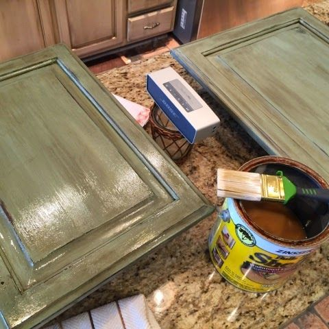 Crafty Southern Mama: Painted Kitchen Island in Annie Sloan Chalk Paint Duck Egg Blue