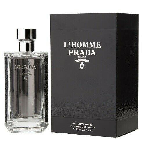 Prada L Homme By Prada 3 4 Oz Edt Cologne For Men New In Box