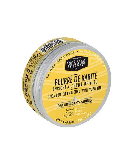BEURRE KARITE/YUZU 100% NATUREL 100ML
