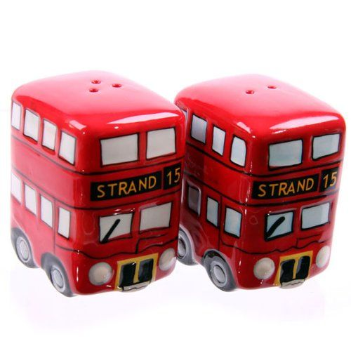 From 3.45 Routemaster Bus Salt And Pepper Set