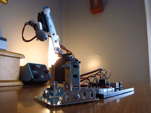 CatBot, An Automated Cat Laser Toy