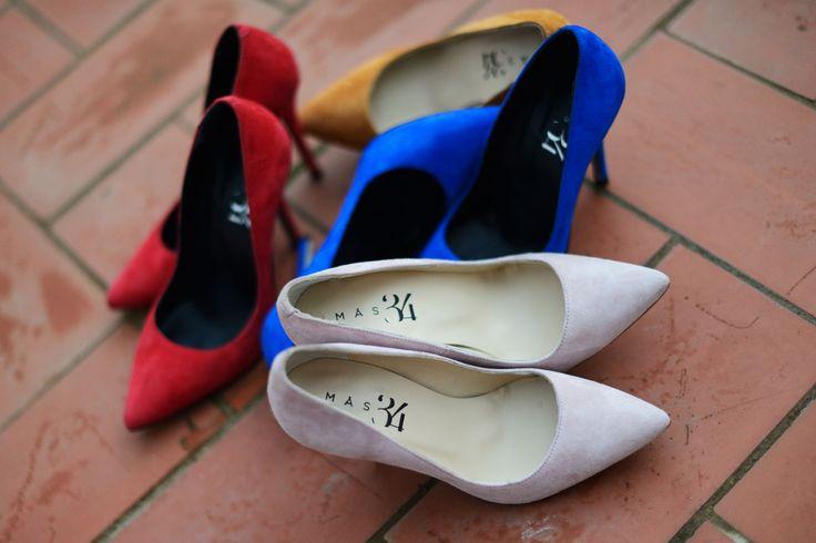 Zapatos de salón - stilettos Mas34 www.mas34shop.com