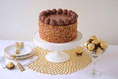 Gâteau Ferrero rocher