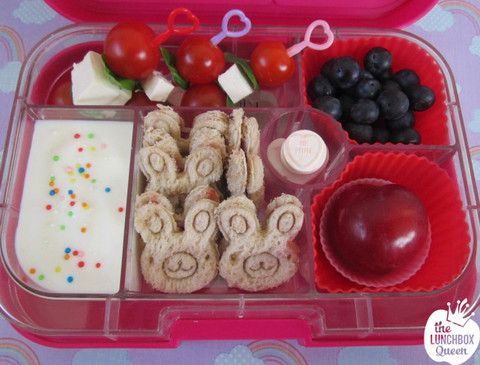 Lunchbox Inspiration – The Lunchbox Queen. Food picks, sandwich cutters, silicone cups and Yumbox all from www.thelunchboxqueen.co.nz