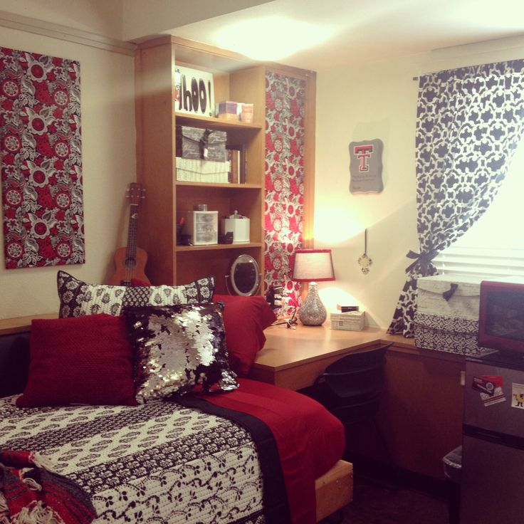 Decorating Ideas > My Dorm Room At Texas Tech  College  Pinterest ~ 183425_Texas Tech Dorm Room Ideas