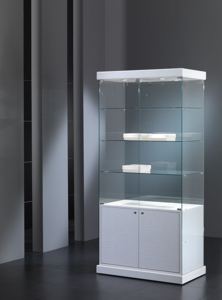 Unique Free Standing Glass Display Cabinets