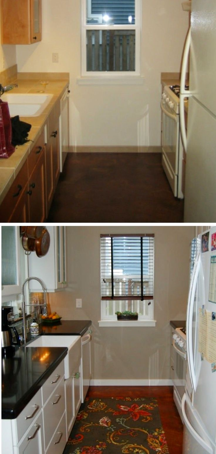 Small Kitchen Ideas On A Budget Before After Remodel Pictures Of Tiny Kitchens Clever Diy Ideas Budget Kitchen Remodel Kitchen Remodel Small Kitchen Ideas On A Budget