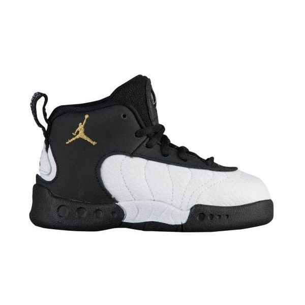Jordan Jumpman Pro - Boys' ToddlerLeather and synthetic upper for durable  containment with a premium look and feel.Midfoot shank for midfoot support  and ...