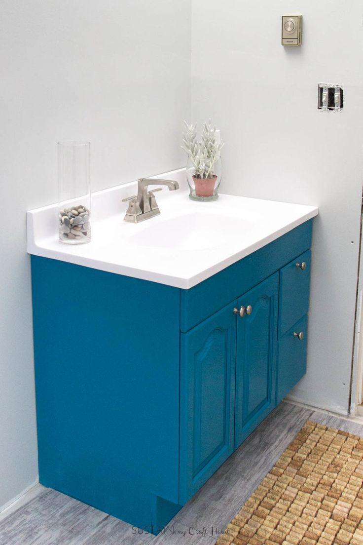 best 25 painting bathroom vanities ideas on pinterest paint vanity diy bathroom cabinets and. Black Bedroom Furniture Sets. Home Design Ideas