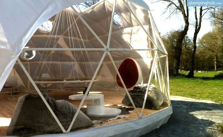 Dome Camping in France