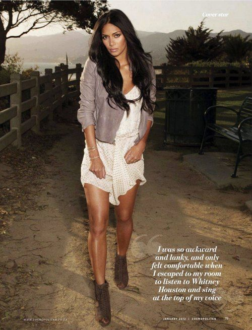 Nicole Scherzinger: Cover Cosmo South Africa January 2012