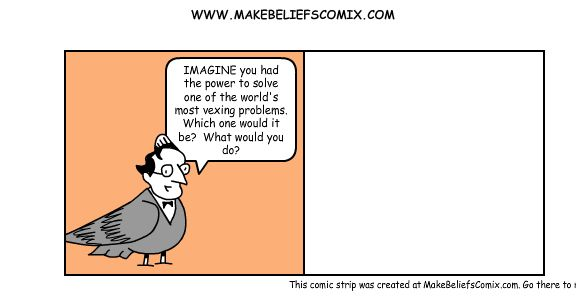 This comic strip was created at MakeBeliefsComix.com; go there to create your own.