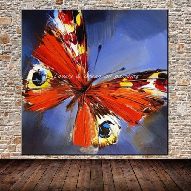 Modern Abstract Art Pictures Handpainted Animal Butterfly Oil Painting On Canvas Wall Art Picture For Living Room Wall Decor Cute Canvas Paintings, Easy Canvas Art, Canvas Wall Art, Zen Painting, Oil Painting On Canvas, Donna Dewberry Painting, Acrylic Painting Inspiration, Abstract Face Art, Sharpie Art