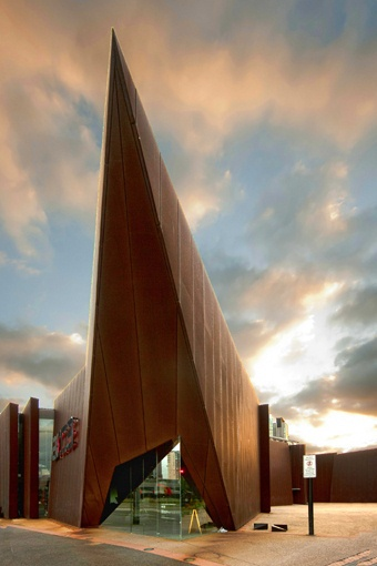 Australian Centre for Contemporary Arts designed by Wood Marsh