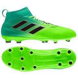 Chuteira Campo Adidas Ace 17.3 FG Masculina - Verde+Preto