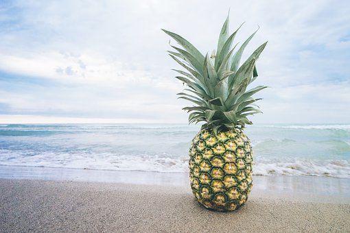 Beach, Owoców, Jezioro, Ocean