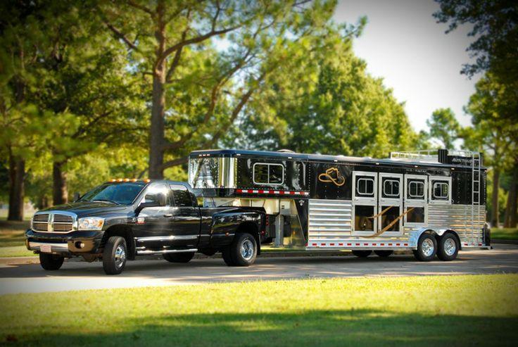Elite Trailers - Custom Aluminum Trailer,,  Dodge Ram 3500 Laramie