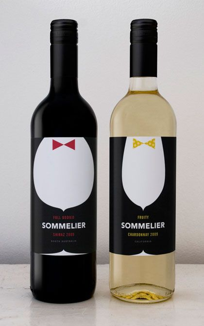 50 of the most clever wine label designs i've seen in a while
