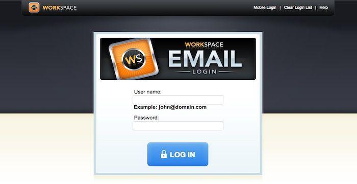 GoDaddy Workspace Login