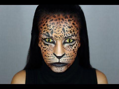 Tutorial maquillaje leopardo. Leopard makeup tutorial. - YouTube