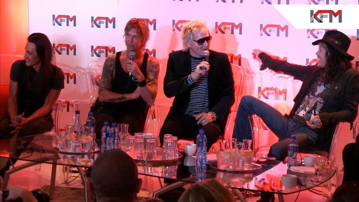 Kings Of Chaos 2014 live on KFM - Steven Tyler, Matt Sorum, Duff McKagan, Billy Gibbons, Gilby Clarke, Robin Zander and Nuno Bettencourt join Ian Bredenkamp on KFM for a live press conference.