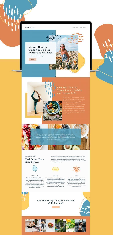 Be Creative In 2021 Blog Website Design Nonprofit Website Design Graphic Design Website