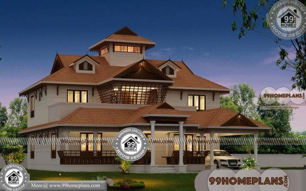 Nalukettu House Plan And Elevation Designs 550 Traditional Collections Model House Plan Kerala House Design House Plans Traditional house plan and elevation