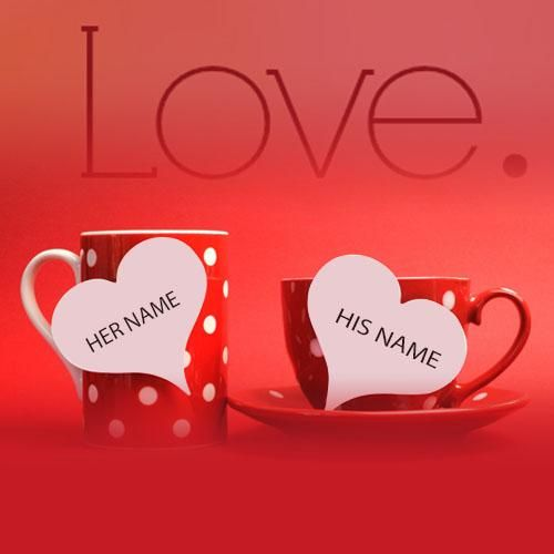 Write Name on love Images red heart  write lovers name Heart Pics