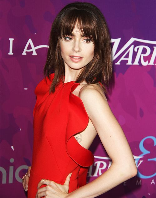 Lily Collins arrives at the Variety And WWD Host 2nd Annual StyleMakers Awards at Quixote Studios West Hollywood on November 17, 2016