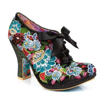 Dizzy Diva | Irregular Choice embroidery