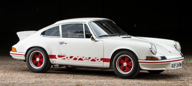 1973 Porsche 911 RS Lightweight Part of the Goodwood Festival of Speed Sale at Chichester, Goodwood. June 30 2017 at 11am GMT