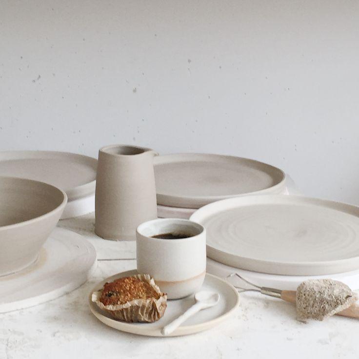 By Annemieke Boots Ceramics studio - throwing - second breakfast