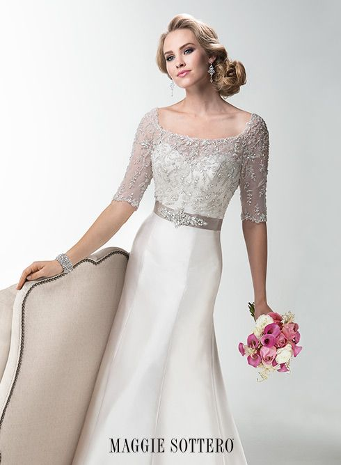Large View of the Yvette Bridal Gown
