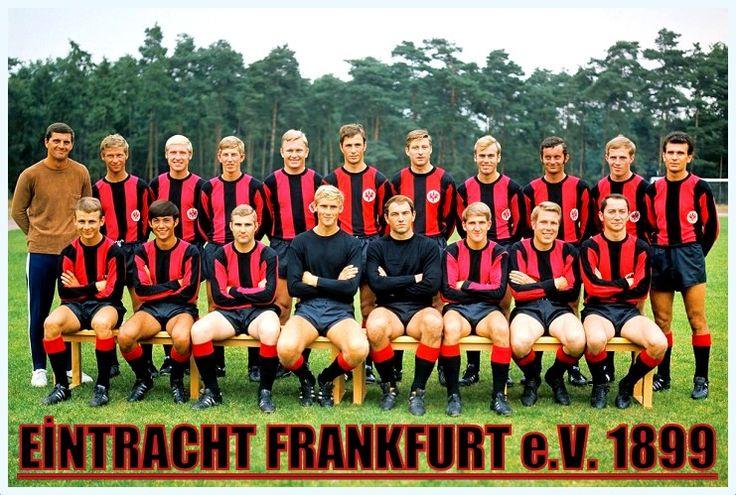 Eintracht Frankfurt mit Trainer Erich Ribbeck.... http://frankfurter-eintracht.blogspot.com.tr/