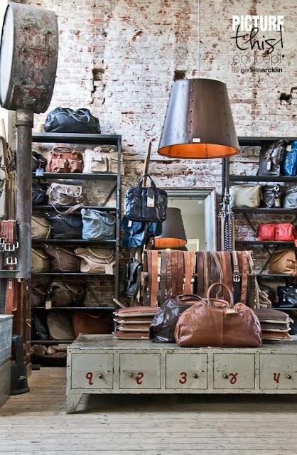 Raw Materials boutique à Amsterdam