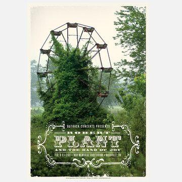 Kii Arens: Robert Plant Print, at 25% off!