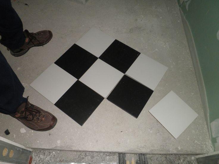 Pavimento mosaico scacchi bagno le migliori idee per la tua