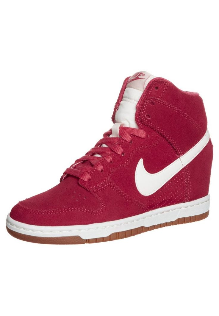 on sale f271e 7e1be ... switzerland 2019 sneaker ad0cb 1725a plus performants nike dunk sky  high wedge pour femme baskets blanc
