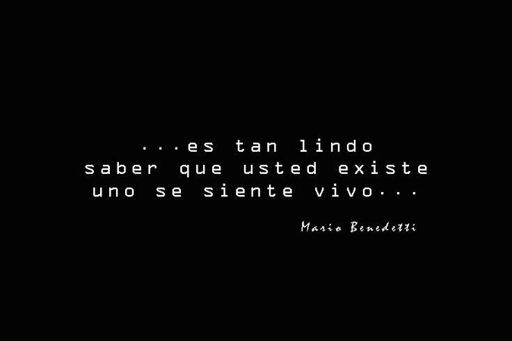 """Del poema """"Hagamos un trato""""  Mario Benedetti"""