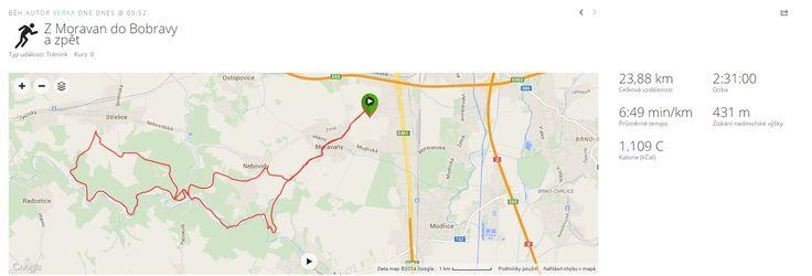 A mapa celé trasy, kdyby si ji někdo chtěl po našich stopách zopakovat :) :)