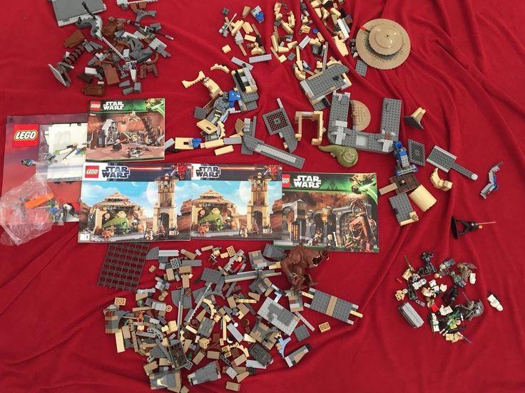 Lego Star Wars Lot 9516 Jabba's Palace 75017 Duel on Geonos 75005 Rancor Sets  #Lego
