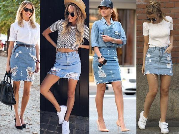 Damenmode Die Beste Zerrissene Jeans Outfits | Moda, Moda