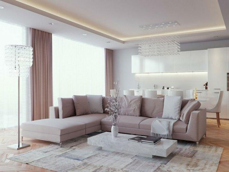 Die besten 25+ Indirekte deckenbeleuchtung Ideen auf Pinterest - beleuchtung wohnzimmer ideen