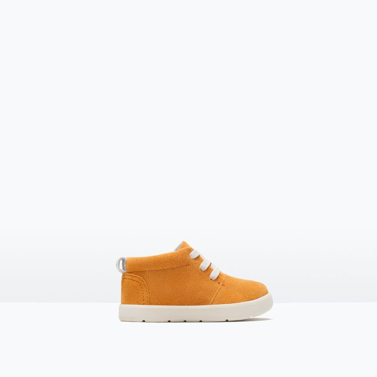 LEATHER DESERT HI-TOPS-Shoes-Baby boy (3 months - 3 years)-KIDS | ZARA United States