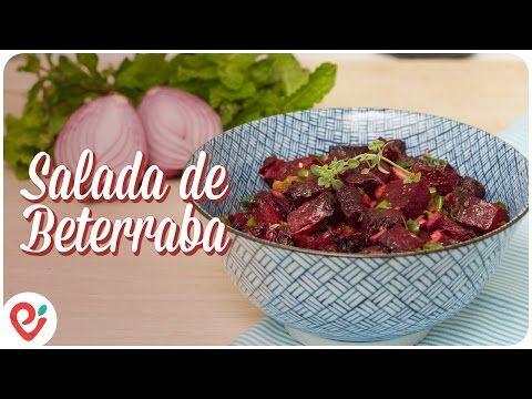 Salada de Beterraba Assada - Presunto Vegetariano