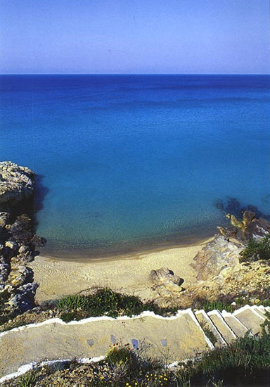 The Endless Blues of Ikaria Island, Greece