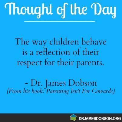 Dr. James Dobson #parenting